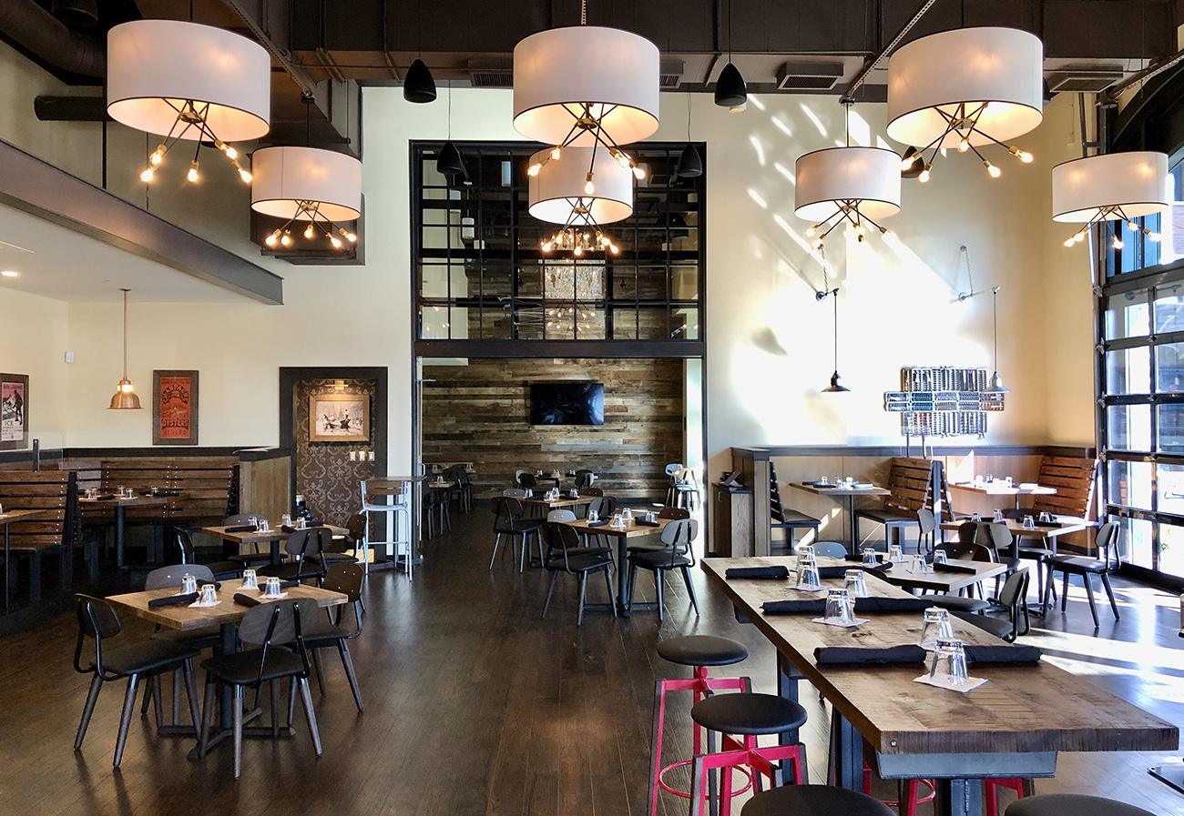Look inside: Oyster and cocktail bar STIR is now open in South End's RailYard