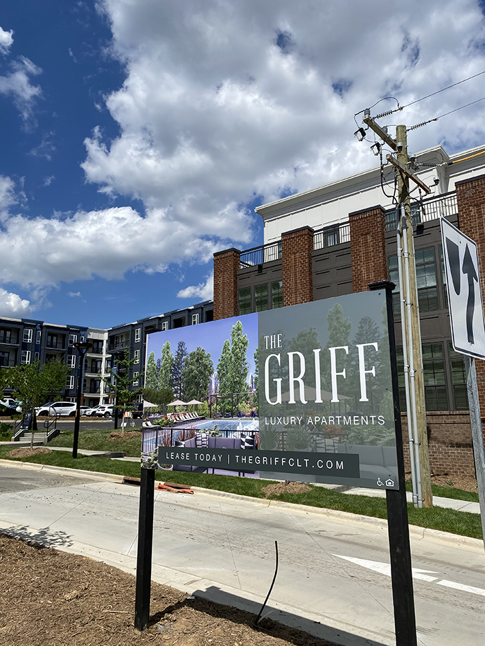 The Griff apartments