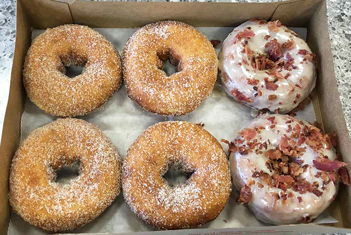 duck-donuts-cinnamon-and-maple-bacon
