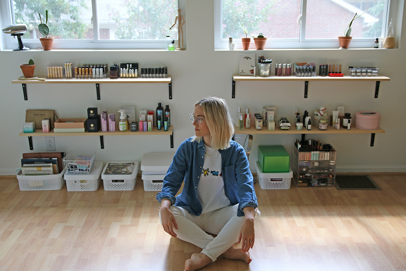 Home Tour: Charlotte magazine's Instagrammer of the Year's retro, minimalist home