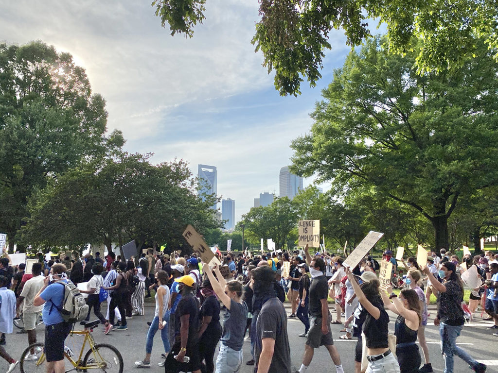 10 days and nights in Charlotte: How the George Floyd protests became a movement here