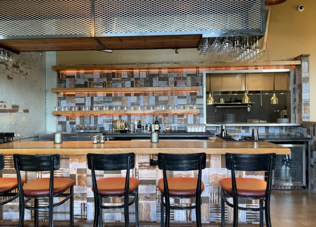 Camp North End restaurant Leah & Louise is now open. Here's what to expect behind the bar