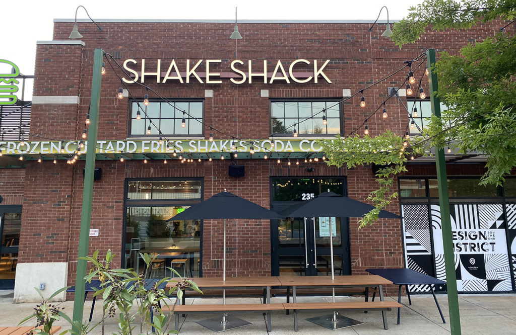 Shake Shack is now open for takeout only in South End's Design Center