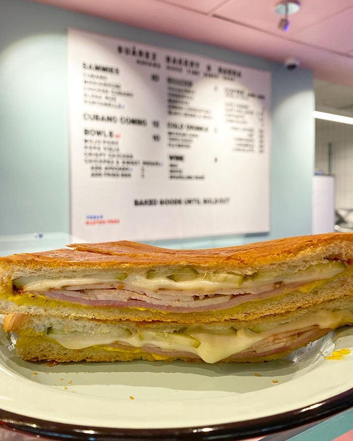 suarez optimist hall sandwich cuban