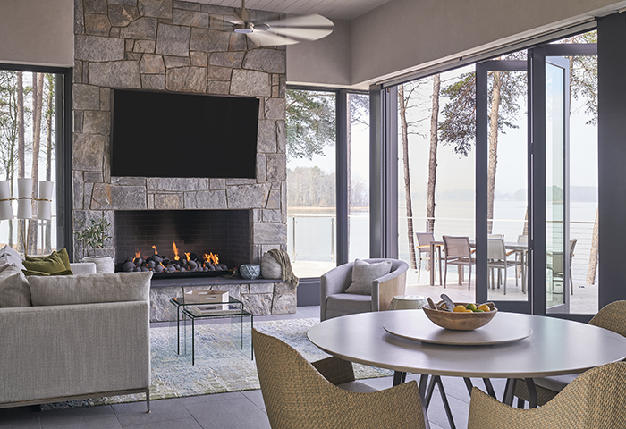 2020 Finalist- Lakefront Living porch
