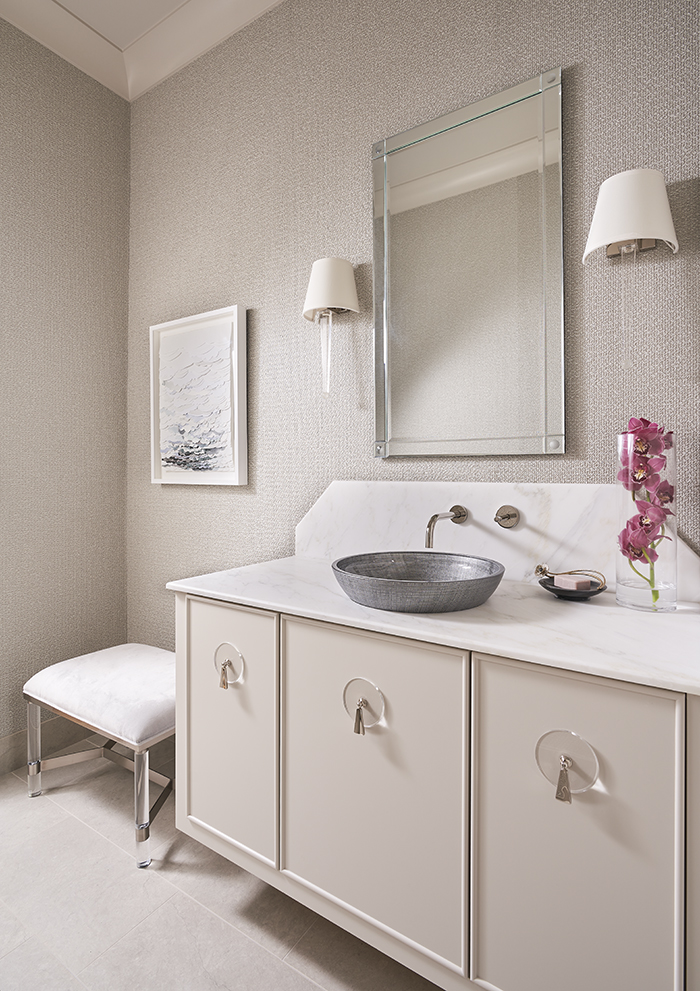 2020 Finalist- Lakefront Living powder room