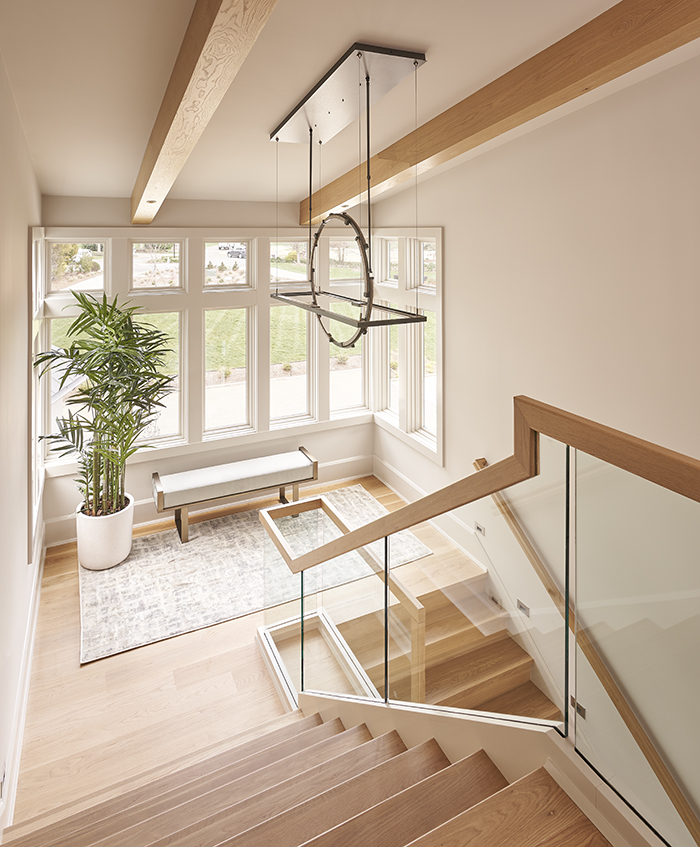 2020 Finalist- Lakefront Living stairs