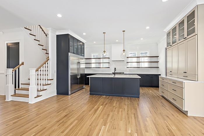 2020 Finalist- Modern Farmhouse kitchen island