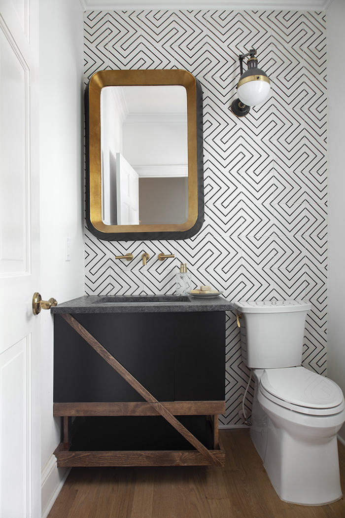 2020 Home of the Year powder room