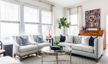 Home tour: See inside this First Ward home renovation, with budget-friendly design tips
