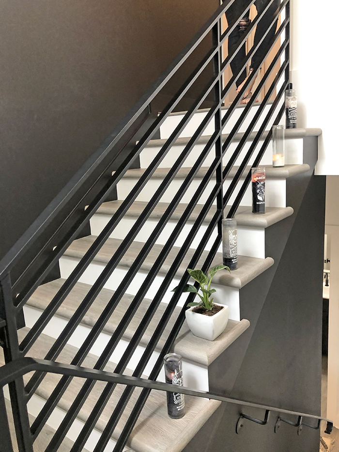 Corri Smith Home Tour stairs
