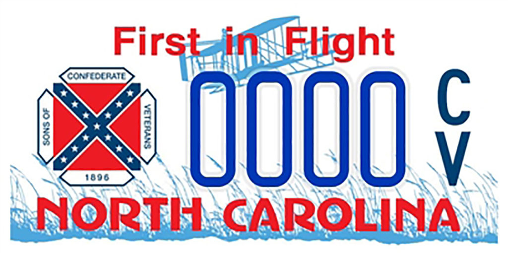 Could the 'troubling' confederate flags on North Carolina license plates be coming to an end?