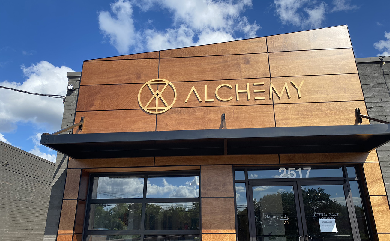 Vegetarian-focused restaurant called Alchemy at C3 Lab now open in South End