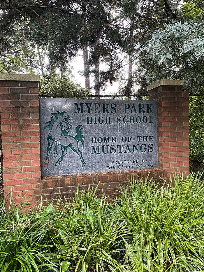 Myers Park mustangs