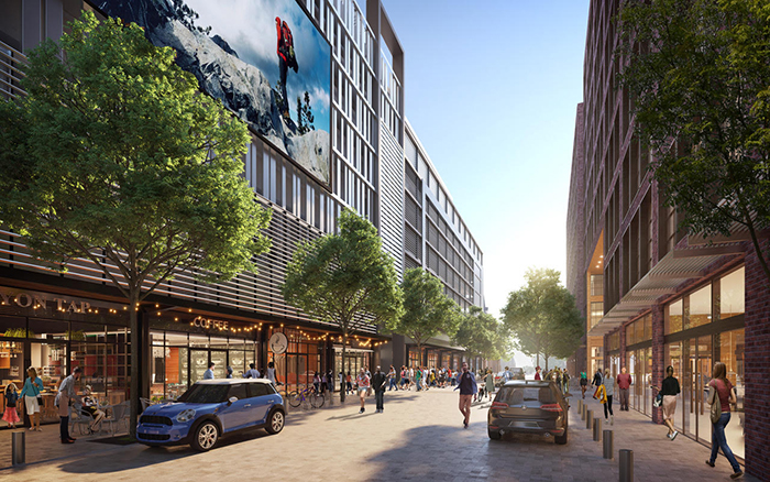 Rendering of Seventh and Tryon in Uptown (courtesy of Metropolitan Partnership)
