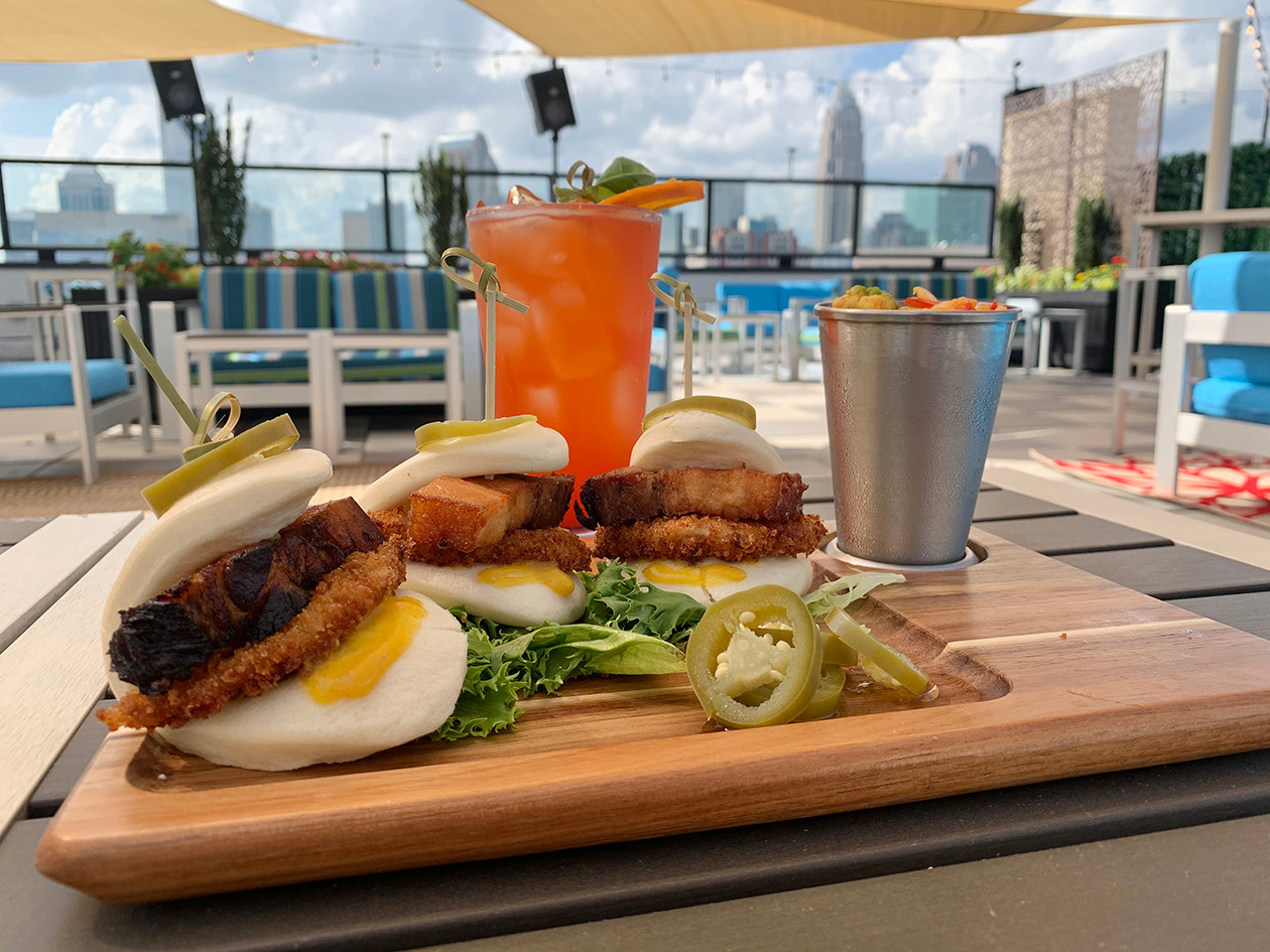 See inside: Cloud Bar, a rooftop bar by celeb chef David Burke, is now open in Uptown