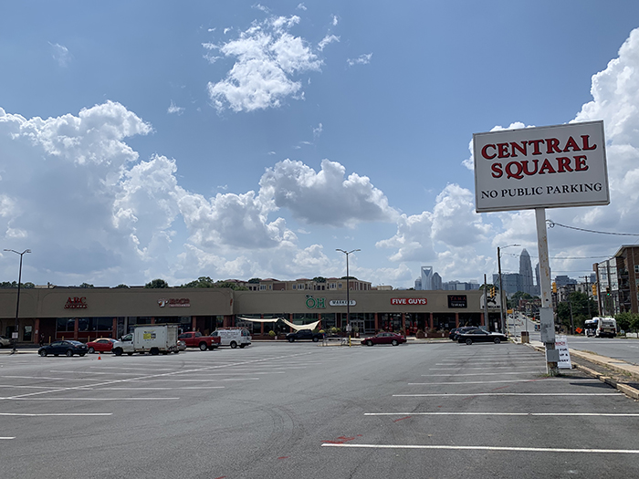 Central Square in Plaza Midwood
