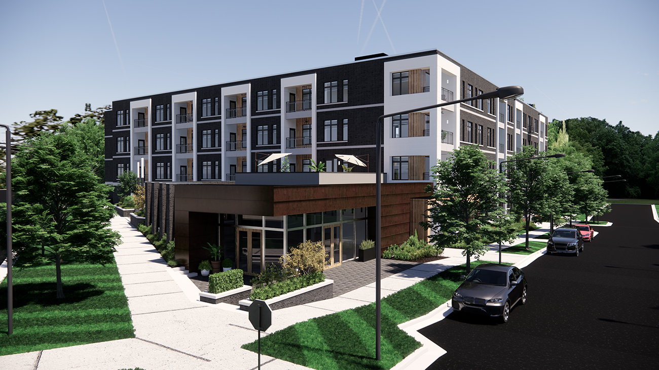 Construction on The Fulcrum in South End starts this month. Condos start at $305K