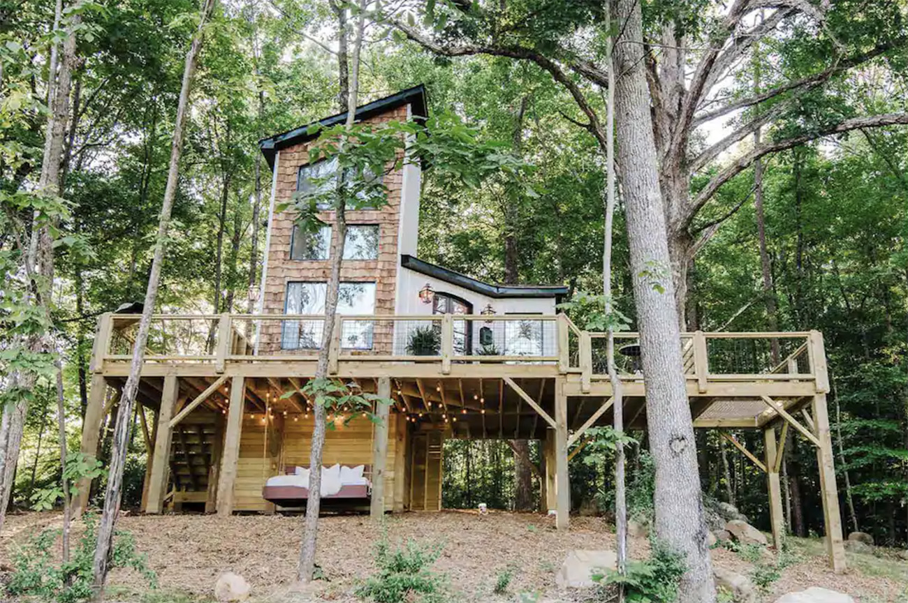 16 cool Airbnbs less than 2 hours from Charlotte — starting at $82 a night