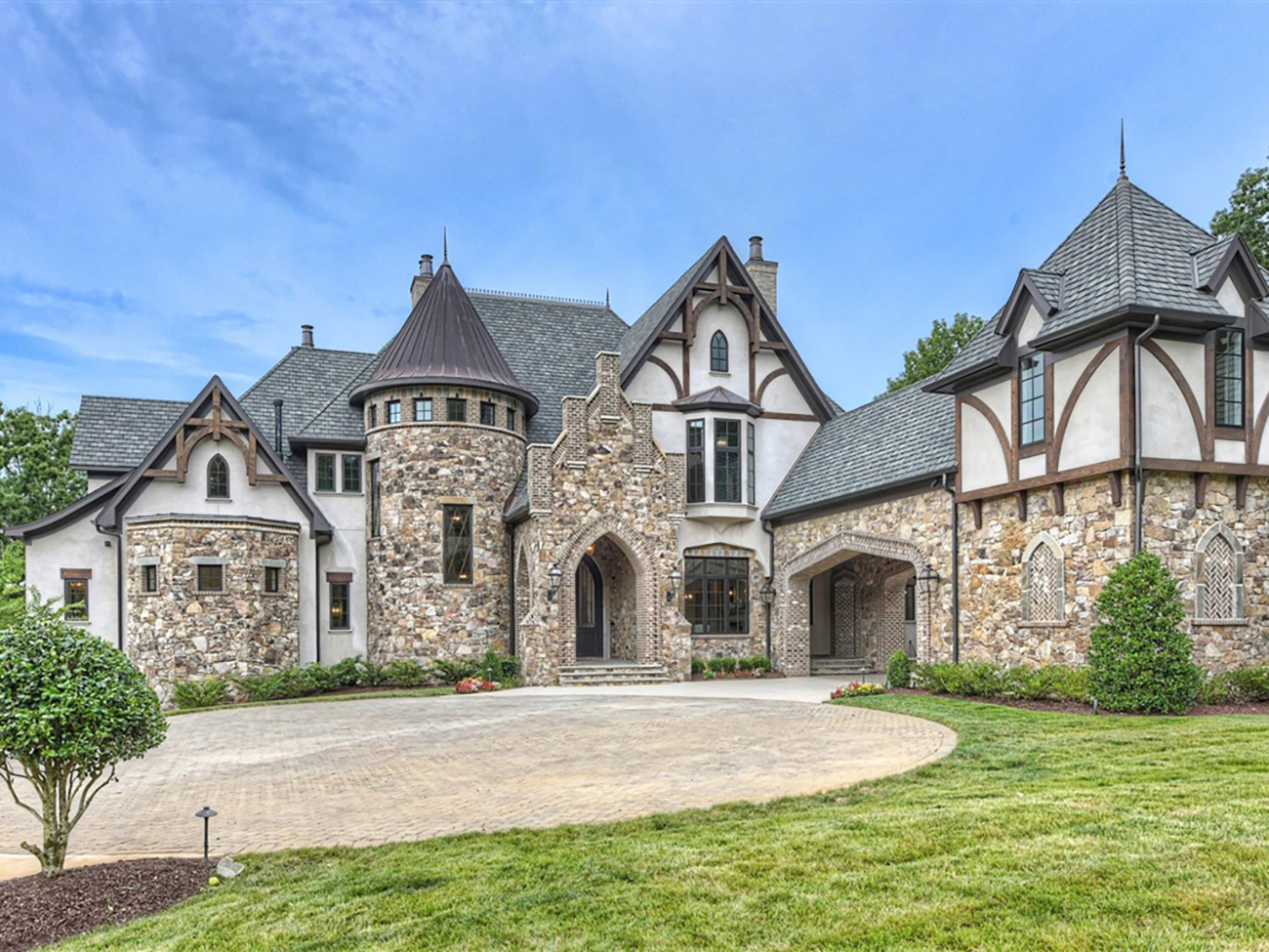 This $8M lakefront castle is the most expensive home for sale in the Charlotte area right now