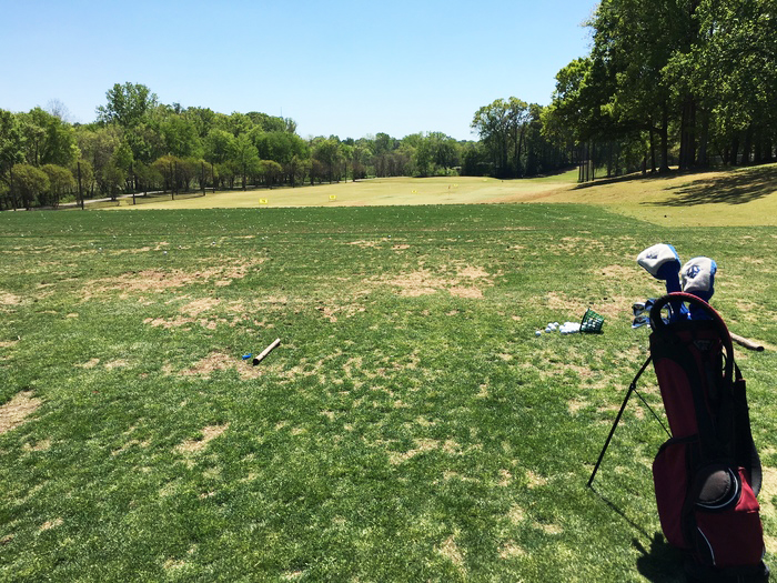 golf practice charles l sifford driving range