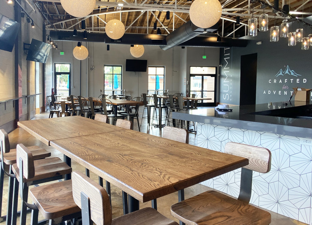 Spiked seltzer brewery now open with $5 draft seltzer, 100 calories or less