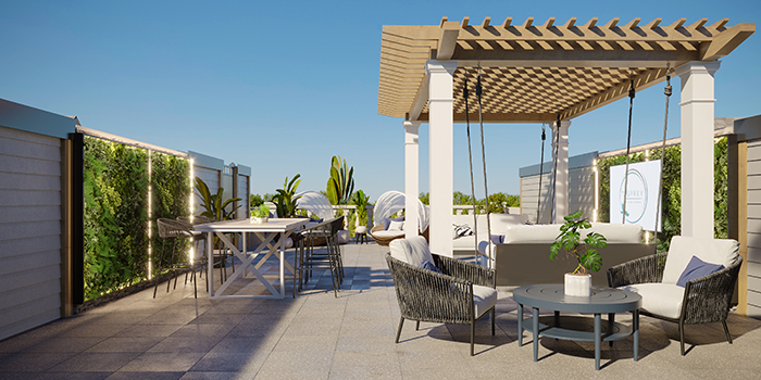 the osprey rooftop lounge