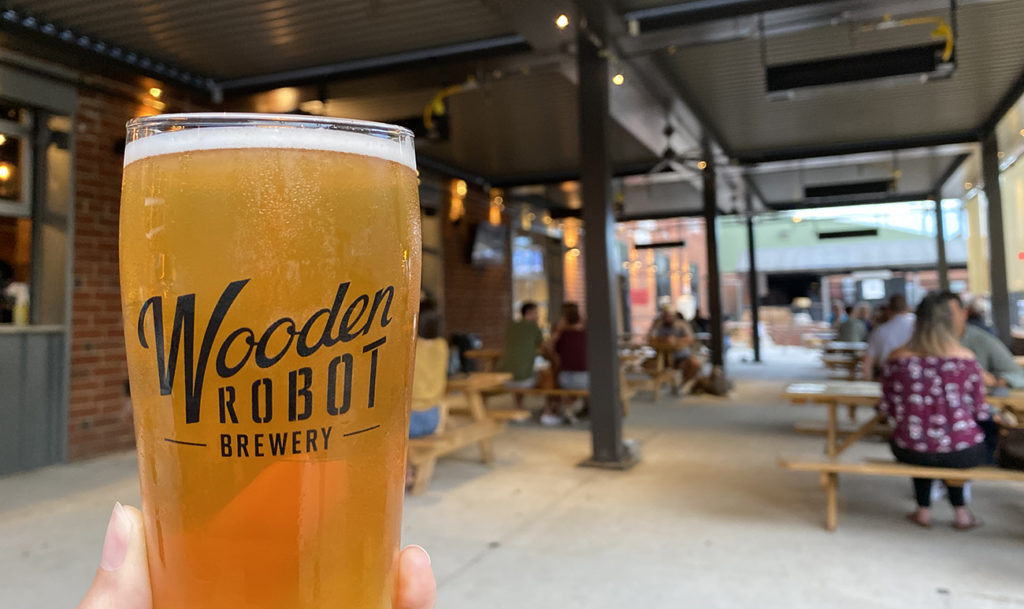 Complete list and map of Charlotte's 30+ local breweries, plus the most popular beer at each