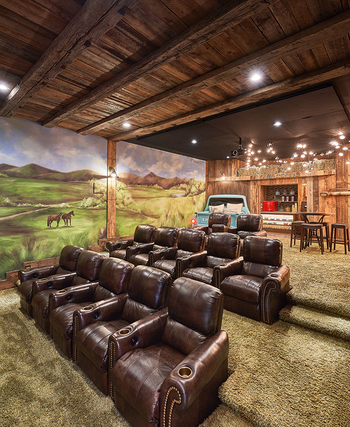 16700 Tinker Place theater room