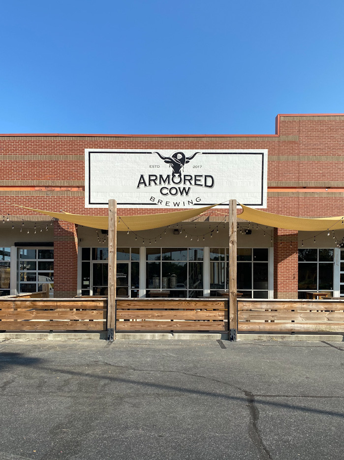 Armored Cow Brewery Exterior