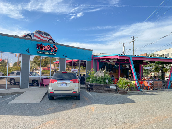 Pinky's Westside Grill exterior shot