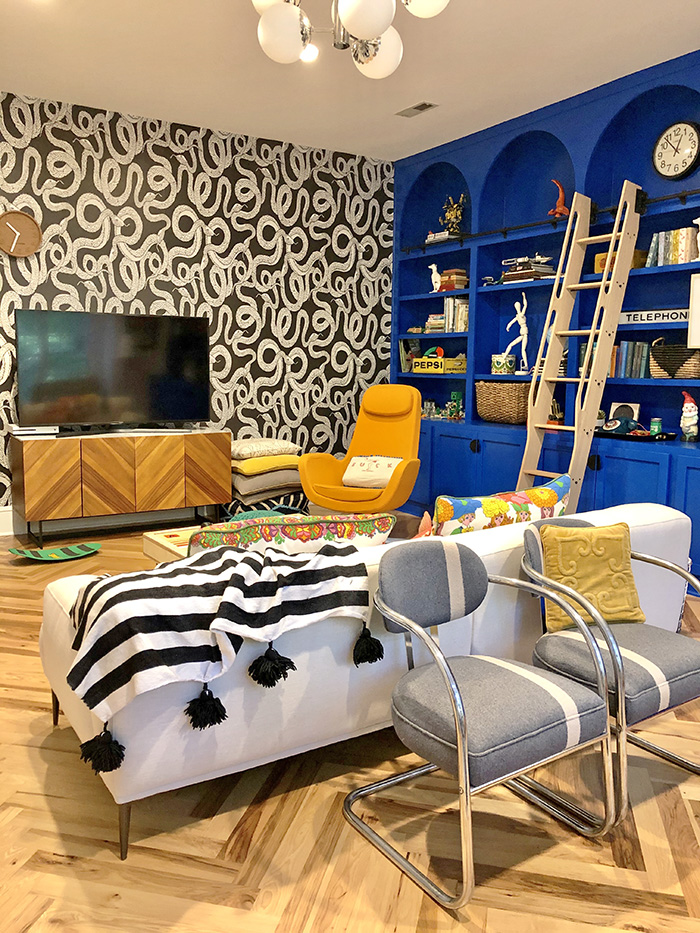 Natalie Papier's Home Ec SouthPark TV and playroom