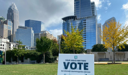 Early voting starts today in North Carolina. Find the Mecklenburg County site that's most convenient for you