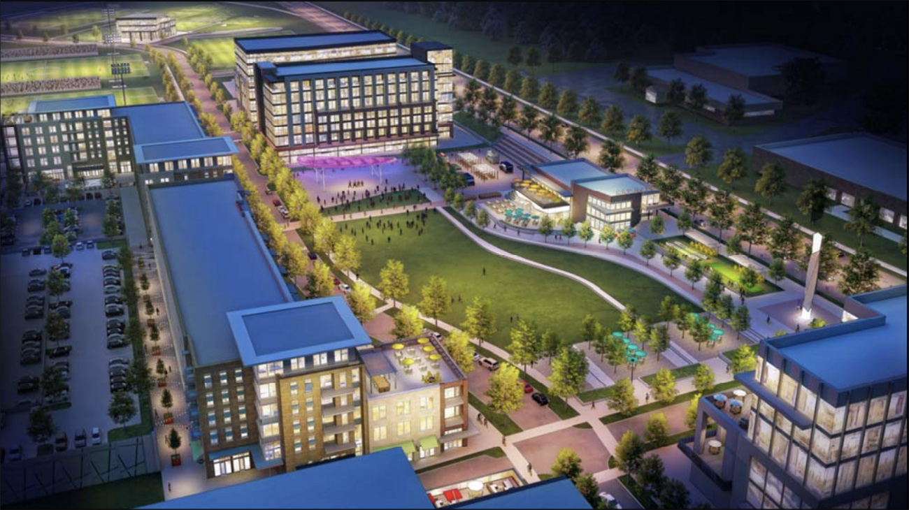 What happened with the MLS plans for Eastland?