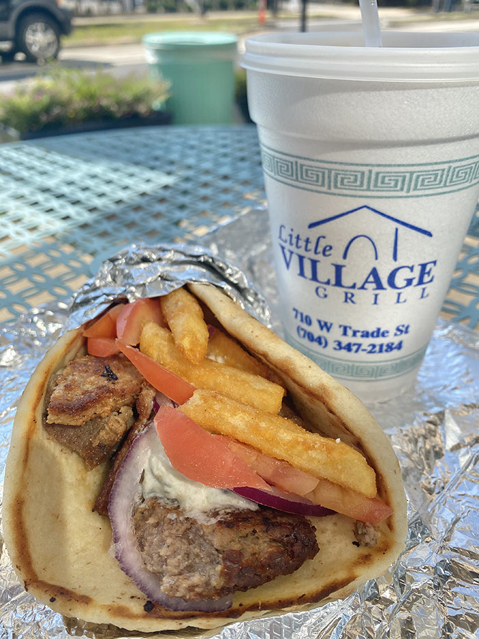 gyro at little village grill