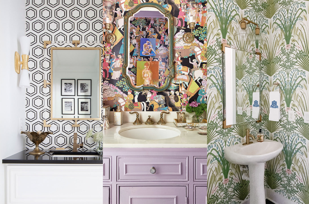 27 gorgeous powder rooms from Charlotte designers