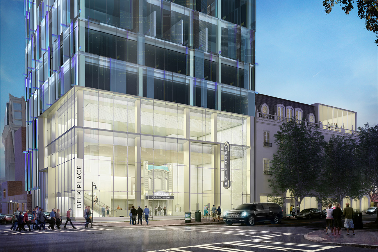 Carolina Theatre restoration promises a 'community living room' for Uptown, even if it's delayed