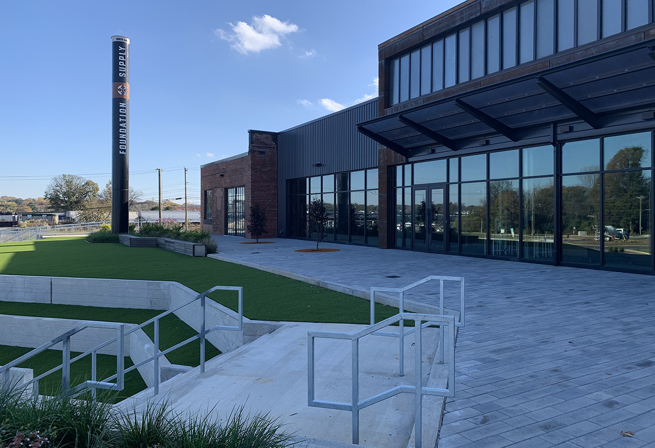 On North Tryon, a rehabbed century-old factory gets new life