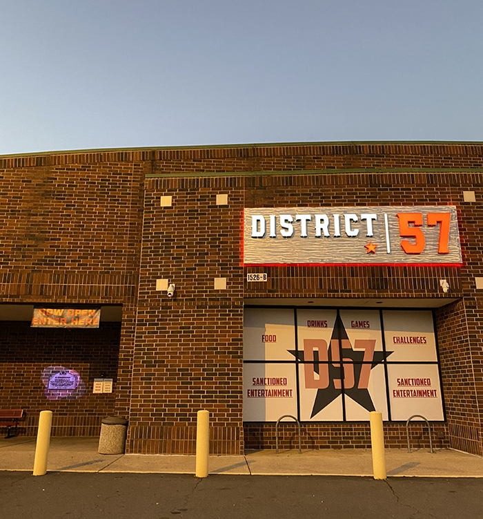 district 57 entertainment complex west charlotte