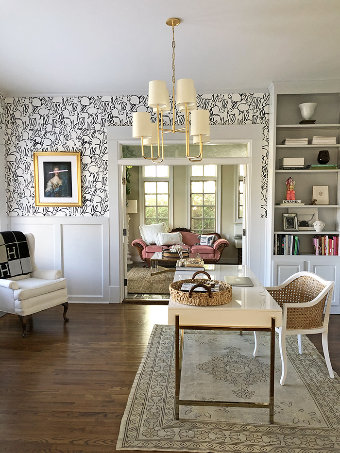 Charlotte Staton home tour office