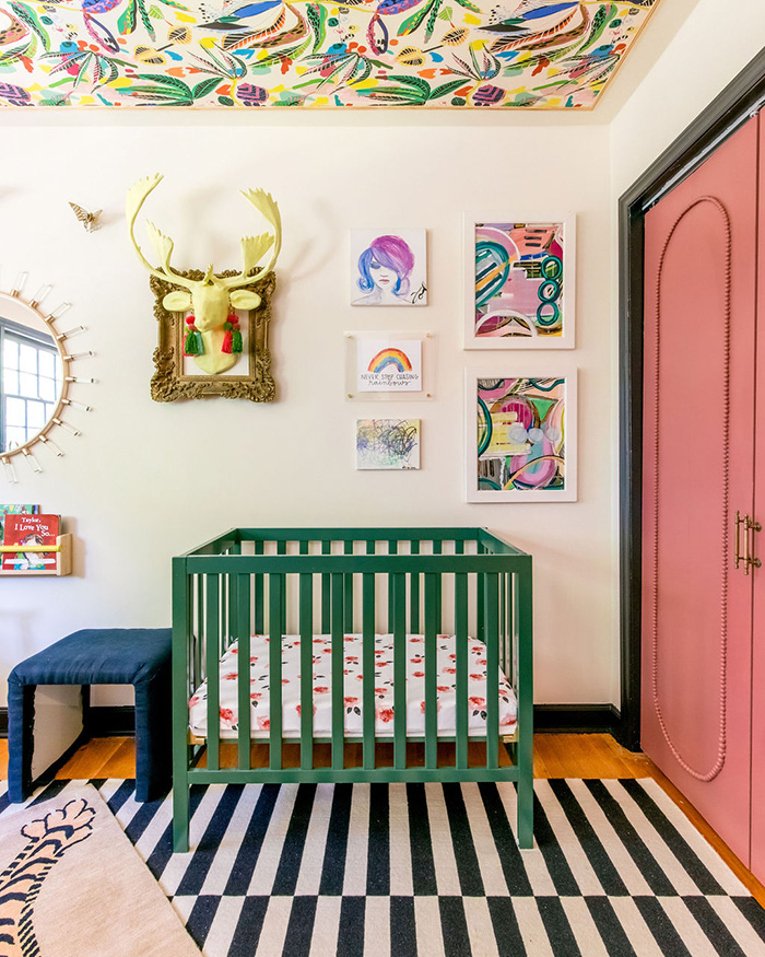Danielle McKim Home Tour nursery crib