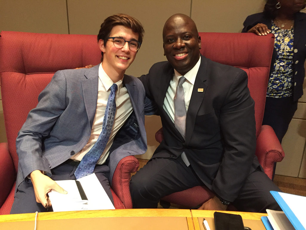 Everyone loves Gabe: Meet the 17-year-old who keeps the CMS board honest