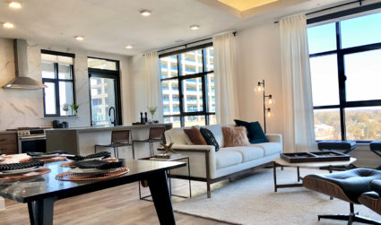 High-rise luxury apartments at the Hawk in South End now leasing for $1,905+