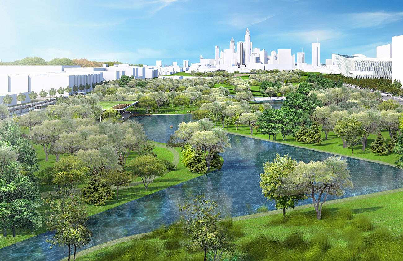 Plans for a massive central park for Charlotte quietly advance