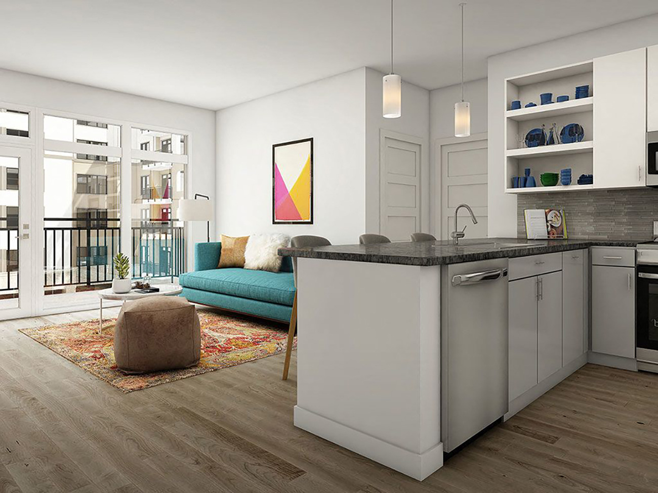 Apartments: Today's deals at every price point, from $800 to $1,600 a month.