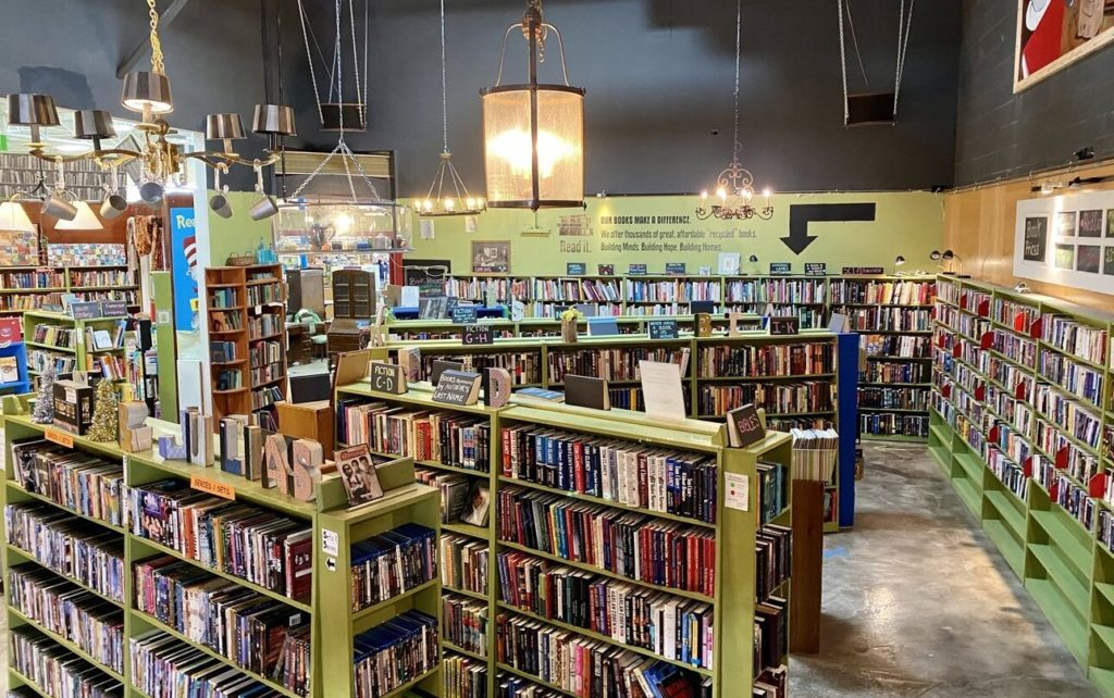 Hidden gem: Julia's Café & Books combines lattes and used books to support Charlotte's affordable housing
