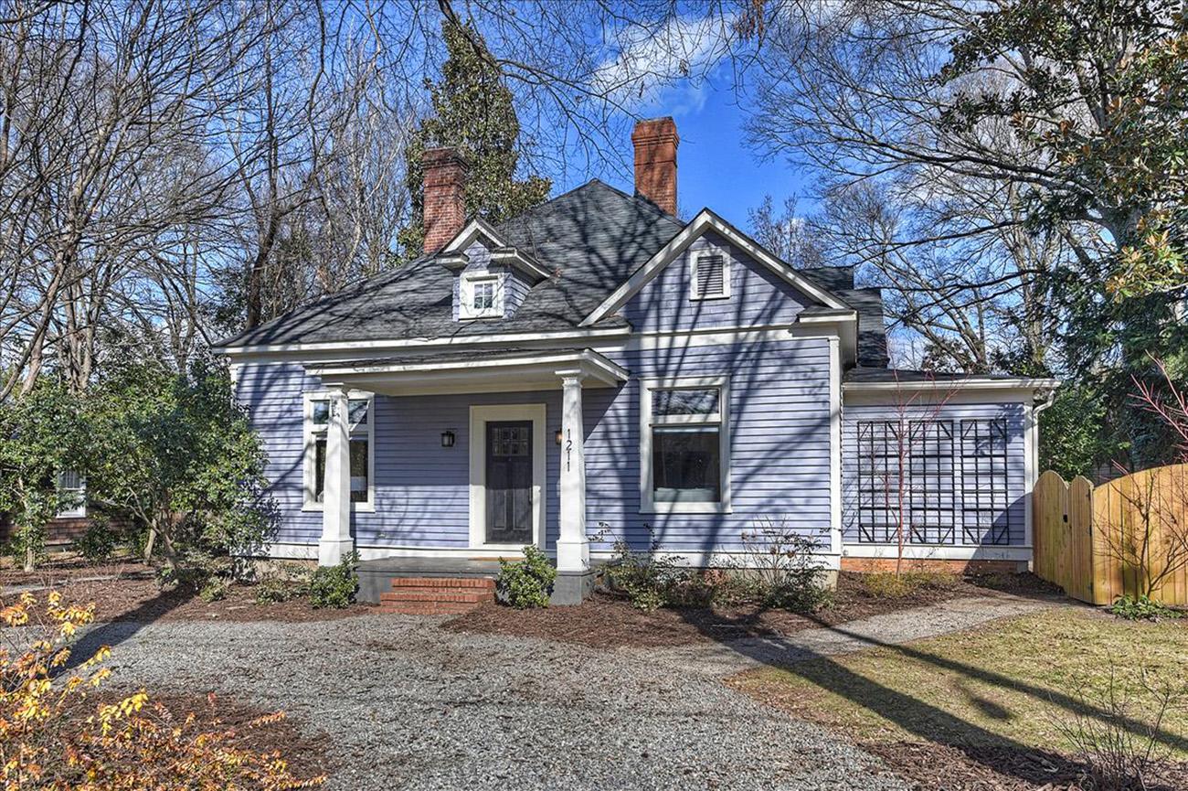NoDa cottage with built-in Airbnb asks $750K