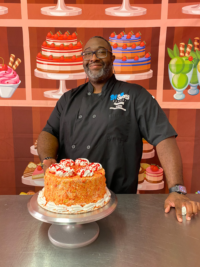 BW Sweets Bakery owner, Frankie