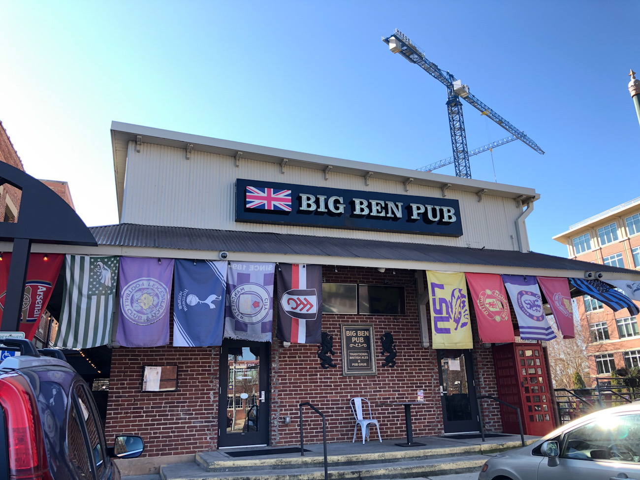 Big Ben Pub (and Charlotte soccer fans) will move to the former Carpe Diem space