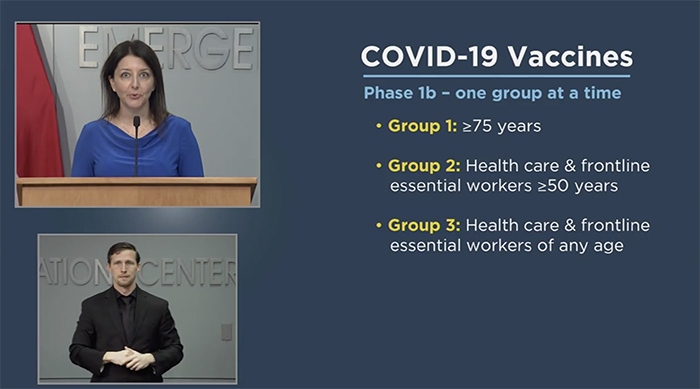 Cohen Covid Vaccine Update Dec 30